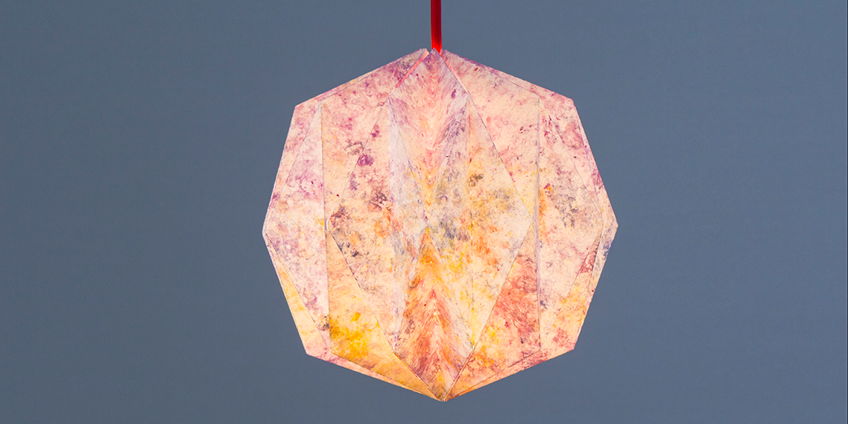 papier lampenschirm selber machen