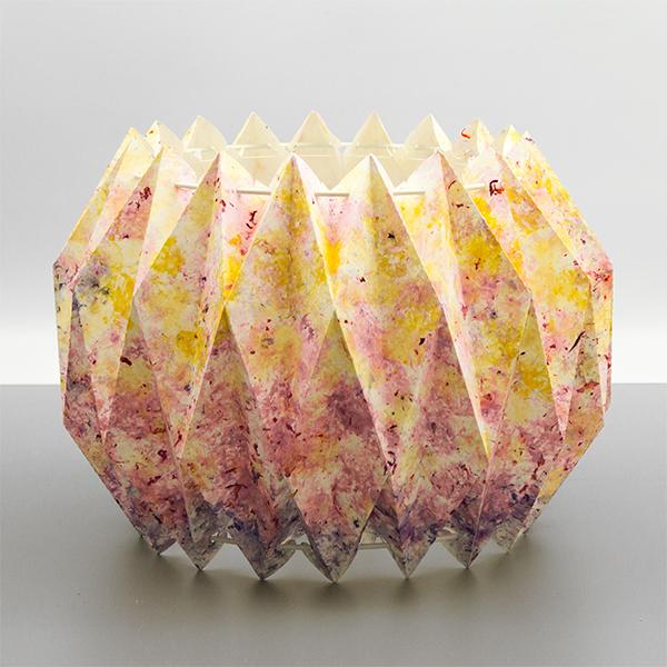 Lampenschirm Kronsmoor mit Blütenblättern